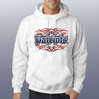 NEW Patriots White Hoodie Sweatshirt Men's Women's S M L XL 2X 3X New England