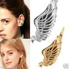 1 Piece Gothic Gold Silver Angell Wing Cute Star Lure Ear Cuff Warp Clip Earring