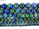 Natural Lapis Lazuli Chrysocolla Gemstone Round Beads 16'' 4mm 6mm 8mm 10mm 12mm