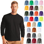 Peaches Pick Men's NEW Ultra Cotton Long Sleeve T-Shirt Adult In 30 Colors S-5XL