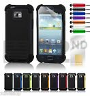 New Shock Proof Skin Case Cover & Screen Protector For Samsung Galaxy I9100 S2