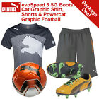 *NEW* PUMA EVOSPEED AGUERO JUNIOR BOOTS, SHIRT, SHORTS, FOOTBALL BUNDLE, RRP£105