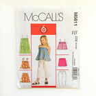 McCall's 5611 OOP Top Shorts Trousers Dress Skirt Sewing Pattern