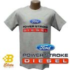 FORD POWER STROKE DIESEL MENS GREY TEE SHIRT