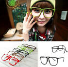 CLEAR LENS SQUARE PARTY FRAME Hipster Glasses Sunglasses NERD GEEK UNISEX GIFTS