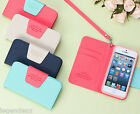 Ardium Line Phone Case for iPhone 5 Diary Flip Cover Card Money Wallet Pouch