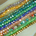 Faceted Quartz Round Beads 98pcs 4mm Pick Color