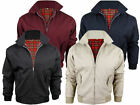Mens King Classic Bomber, Harrington Jacket Vintage Cotton 1970 3XL,4XL,5XL