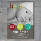 New Baby Thank You Birth Cards