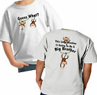 Guess What? I'm Going To Be A BIG BROTHER Little Monkey 2 sided T-Shirt cute