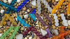 10mm Round Beach Sea Glass Beads You Pick! Cobalt Amethyst Ruby Tangerine Aqua