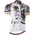 FIXGEAR CS_902 Men's Short Sleeve Cycling Jersey Road Bike Shirt MTB Bicycle Top