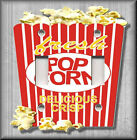 Light Switch Plate Cover - Movie Room - Popcorn Bucket - Home Decor
