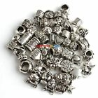 Wholesale Lots Mixed Tibet Tibetan Silver Alloy European Bead Fit Charm Bracelet