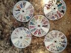 Swarovski NON Hotfix Crystal NEW Enhanced WHEEL Kit, Variety, Clear or AB -Upick