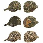 6 FLEXFIT Mossy Oak Break Up / MO Infinity Fitted Hunting Cap S/M L/XL Camo Hats