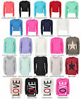WOMENS LADIES LONG SLEEVE CHUNKY KNITTED CROP PLAIN BAGGY JUMPER 8-14