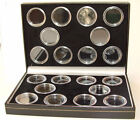 Coin Case for 20 Full Sovereigns - 2 colours - capsules not included