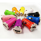 Mini Bullet Dual 1-Port USB Car Charger Adaptor For iPhone 4 4G 4S iPod LOT OF