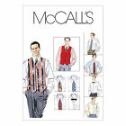 McCall's 2447 Sewing Pattern to MAKE Men's Waistcoat, Shirt, Tie & BowTie