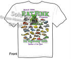 Ed Big Daddy Roth T Shirt Detroit Builder Of The Year Rat Fink Tee Sz M L XL 2XL