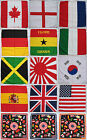 Flag Bandana 100% COTTON Head Scarf Neck Headtie Headband Headwrap Hand Kerchief