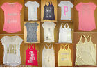 NWT Victoria's Secret Suppermodel Essential Bling Sparkle T-Shirt Tee Tank Top
