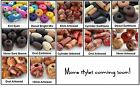 50 Wood Beads Choose Size and Design