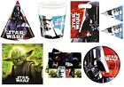 OFFICIAL - STAR WARS FORCE 7 KIDS BOYS PARTY RANGE ITEMS  - ALL IN 1 LISTING!