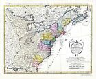 old map of the united states - Old War Map - Chart of the United States of North America 1784 - 23 x 31.97