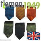 2011 Floral Fashion Silk 3 inch wide Ties Made in UK