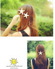 3 Size New Women&Girls Pretty Natural Starfish Star Beige Hairpin Clip/Hairband