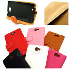LOT of PU Leather Flip Stand Wallet Case for SAMSUNG Galaxy Note 2 II N7100