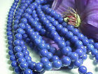 Blue Mountain Jade Round Beads 6mm, 8mm, 10mm - 16 inch strands