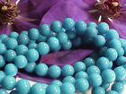 Turquoise Mountain Jade Round Beads 6mm, 8mm, 10mm - 16 inch strands
