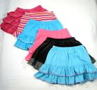 NWT HANNA ANDERSSON RUFFLE & TWIRL SKIRT 10-24mos 80  BLUE PINK VELOUR STRIPES