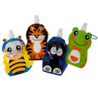 KIDS WATER DRINKS FOLDING BOTTLE TRAVEL ANIMAL SPORTS COLLAPSIBLE SCHOOL CAMPING