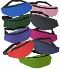 EURO BUM BAG BELT PACK - 9 GREAT COLOURS - TRAVEL ADJUSTABLE WAIST BELT STRAP