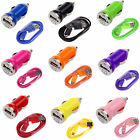 Car Charger+Micro USB Cable for Samsung Galaxy S4 S IV S3 S III i9300 i747 Phone