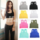 HOT Sport Bra Fitness Exercise Yoga Workout Sleeveless Stretch Seamless Tank Top