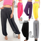 Casual Yoga Harem Loose Pants Dance Sports Trousers Multiple Colour P127