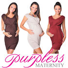 New Stunning Sleeveless V Neck Maternity Dress Top Size 8 10 12 14 16 18 8437