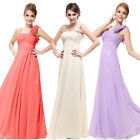 Ever Pretty Women's Long Wedding Chiffon Formal Bridesmaid Prom Gown Dress 09766