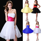 Short Prom Bridal Gowns Bridesmaid Evening Party Cocktail Formal Ball Dress new