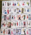 BUTTERICK RETRO outfits paper patterns - assorted designs