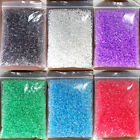 Wholesale 110g(4500pcs) 2.2x3mm Faceted Glass Seed Beads Jewelry Making DIY