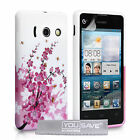Accessories For The Huawei Ascend Y300 Floral Design Silicone Case Cover & Film