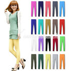 Women's Sexy 20 Candy Color Modal Solid Leggings Elastic Pants Stretchy Tights