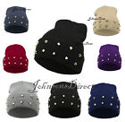 STUDDED beanie hat cone spikes stud spiked