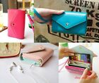 Fashion Korean Cute Envelope Wallet Case For Samsung Galaxy S3,S2,iPhone 5,4S/4